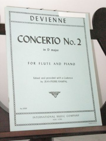 Hoffmeister F A - Concerto No 2 in D Major for Flute & Piano